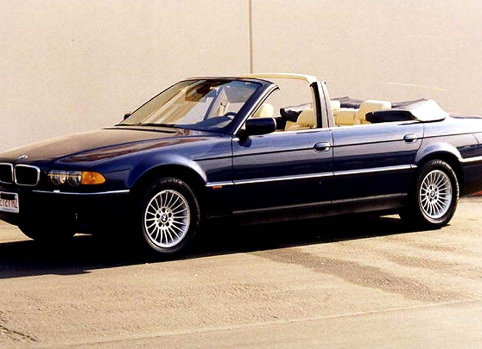 BMW 740IL Convertible