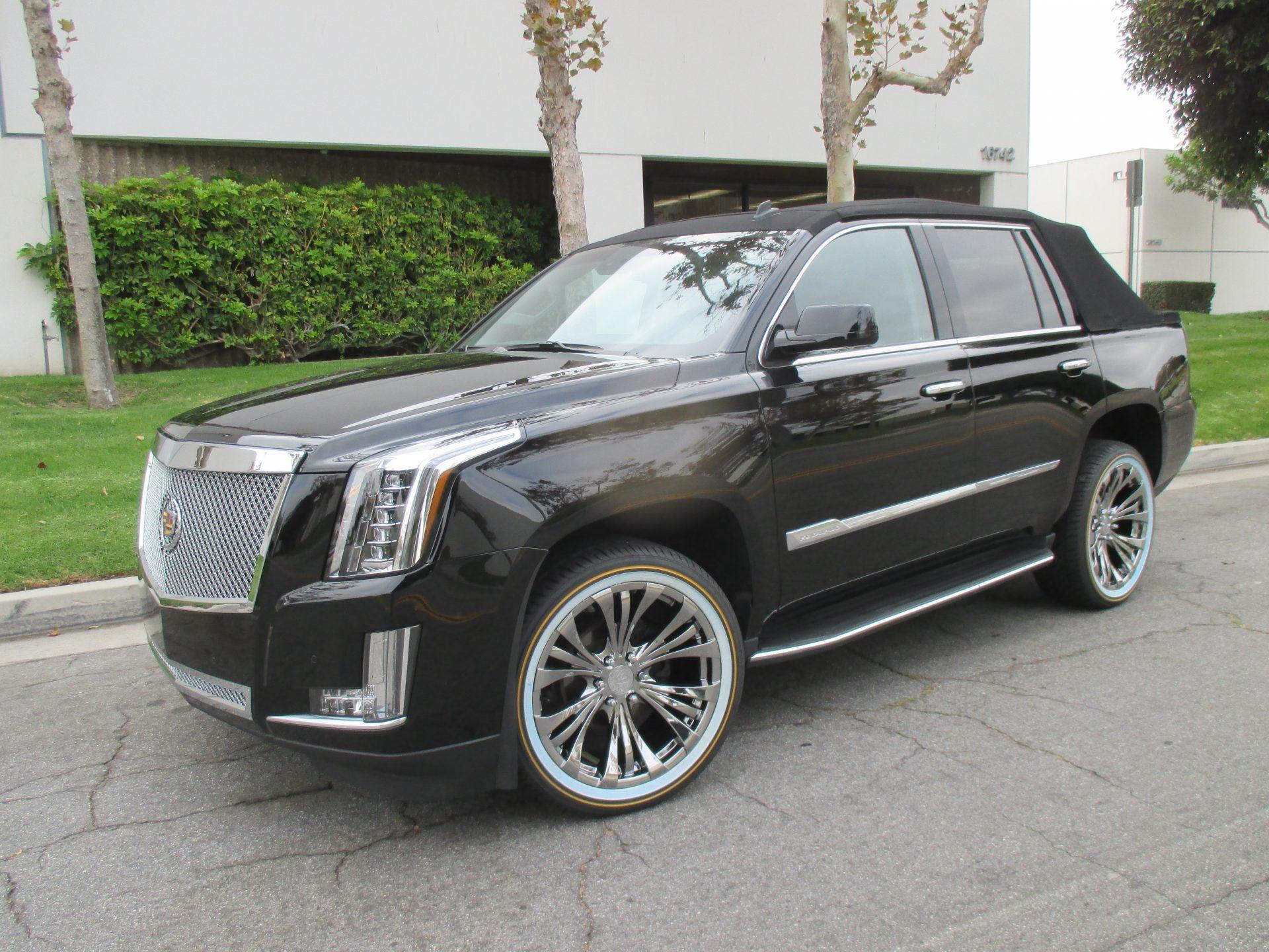 cadillac escalade convertible newport specialty cars. Black Bedroom Furniture Sets. Home Design Ideas