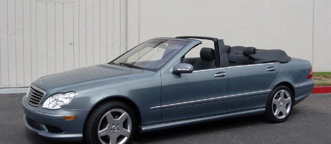 Mercedes Benz S Convertible