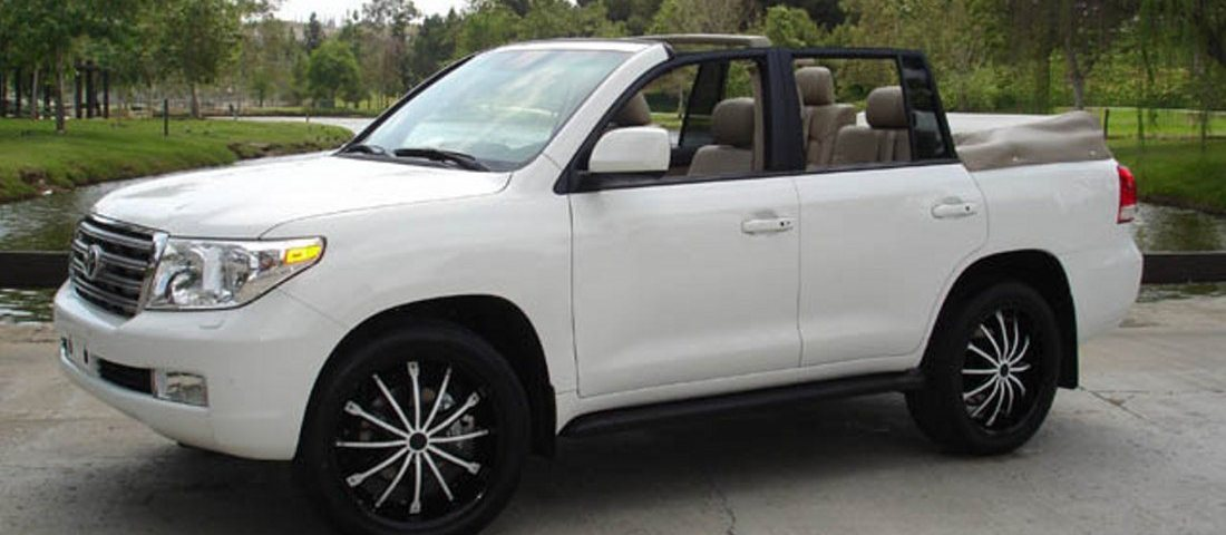 Toyota Land Cruiser Convertible