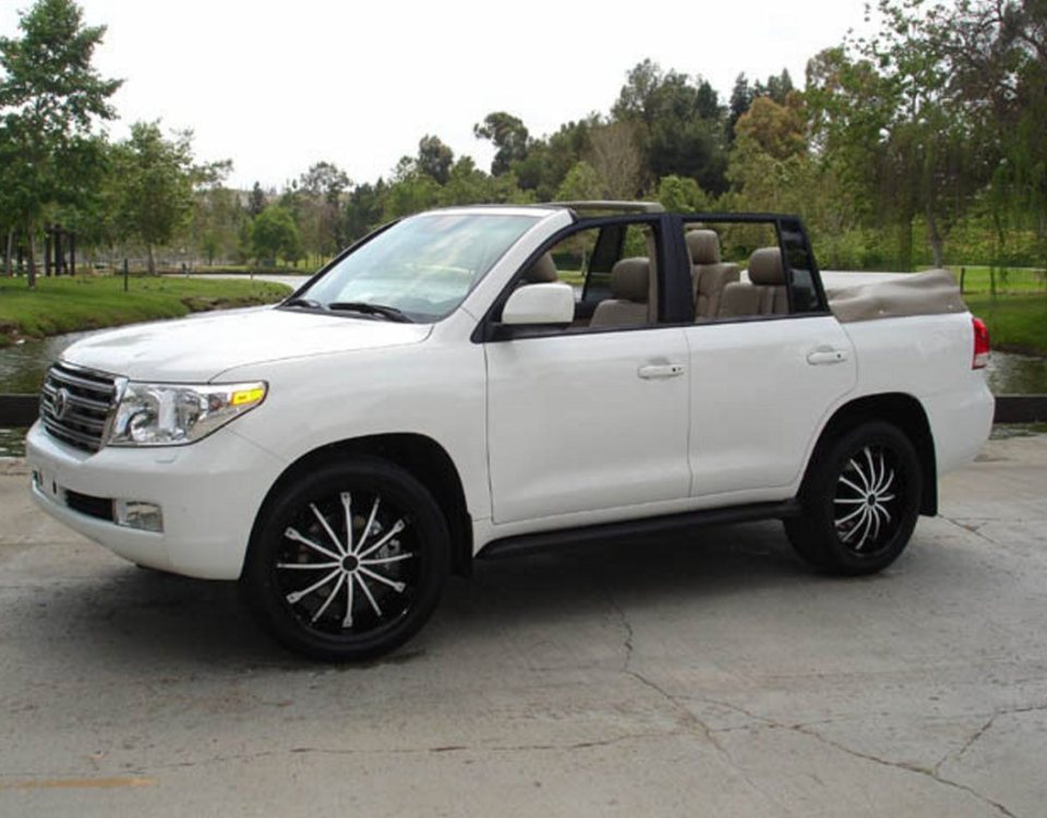 Toyota Land Cruiser Convertible