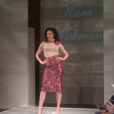 StyleWeek Features Barrington Native Kara Wickman
