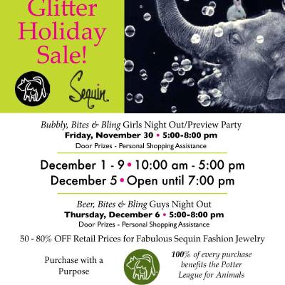 Shop for a Cause (…warm, fuzzy paws!)