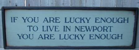 Newport ri gift sign