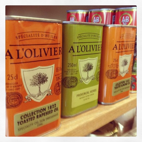 Provencal-style olive oil from France, and other fab foodstuffs, from la Petit Gourmet