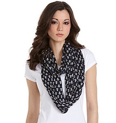 Round and Round: The Sperry Anchor Infinity Scarf