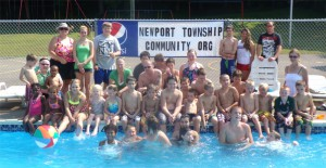 Swim Event August 6, 2013