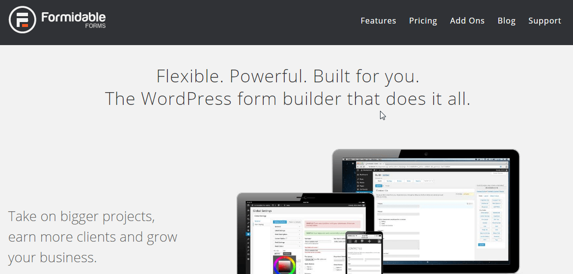Formidable, another great WordPress contact form plugin.