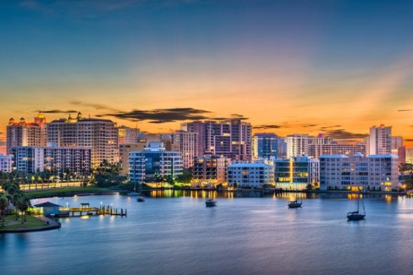 Sarasota, Florida: : one of the Best Cities To Live While Working Remotely