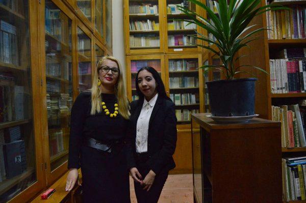 Diana Mariana Puiu și prof Mariana Crăciun