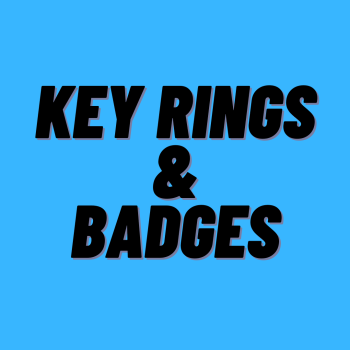 Key Rings/Badges