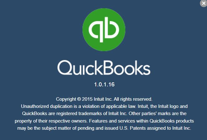 About QuickBooks w/ Version