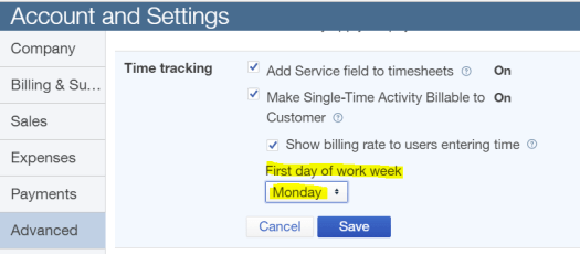 first-day-of-work-week