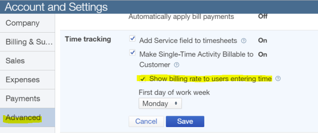 show-billing-rate