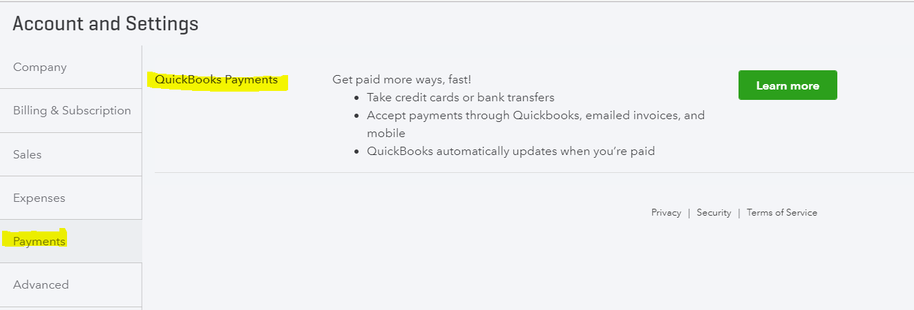 EInvoicing Accept Bank Transfer And Credit Card Payment Options - Quickbooks invoice credit card payment