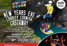 New Years Eve Charity Coasteering