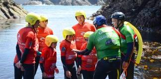 Family Coasteering