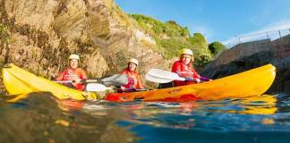 Family Sea Kayak Tour