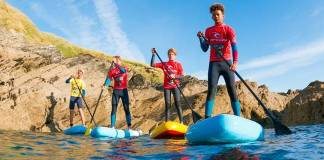 Kids Stand Up Paddleboard Lessons