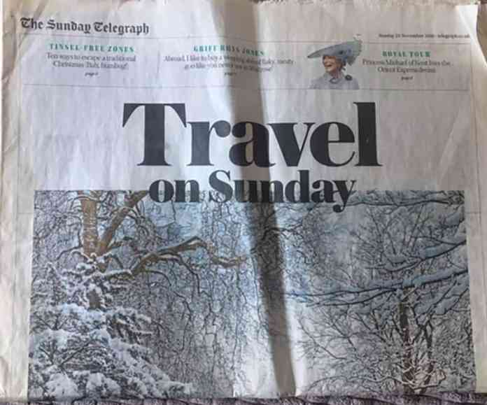 Sunday Times Featured