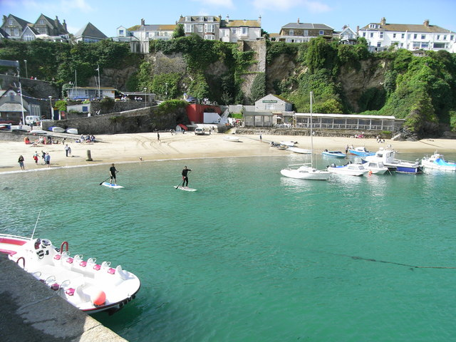 Newquay Harbour Beach