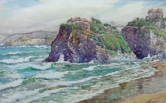 Douglas Houzen Pinder 1886-1949 Newquay Artist
