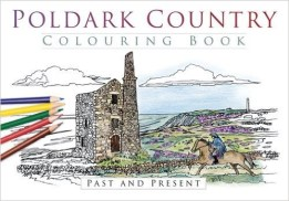 Poldark Country Colouring Book Adult Colouring Book ISBN-978-0750967419