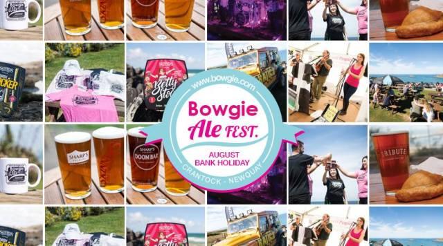 Bowgie Inn Ale Beer Festival Crantock Cornwall 2017