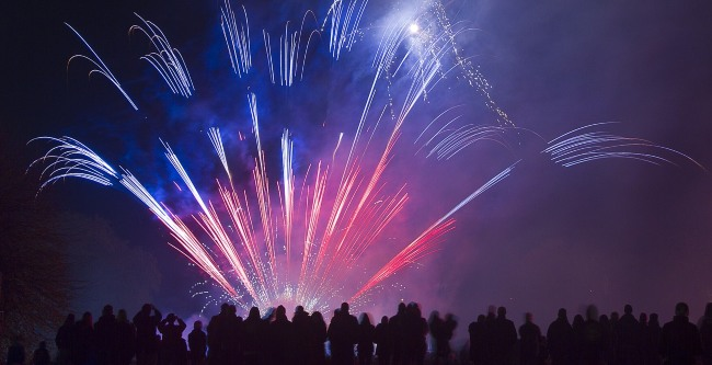 Newquay Fireworks Displays, Bonfire Night 2017