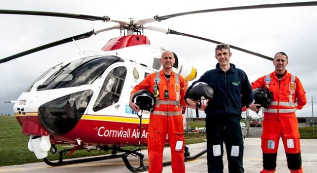 Cornwall Air Ambulance Open Day 18 February 2018