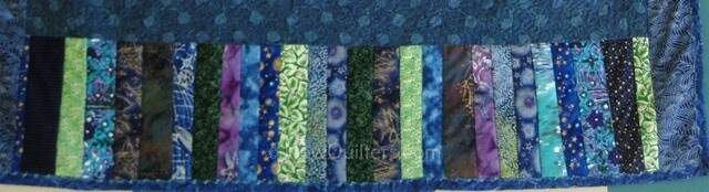 Photo of string quilt border