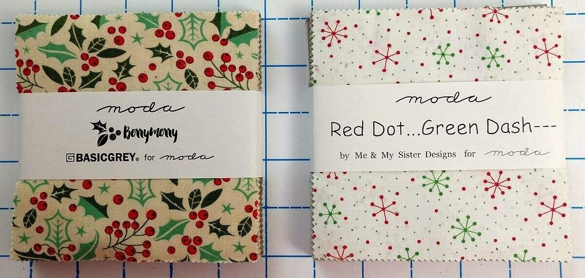 Moda christmas charm packs NewQuilters.com