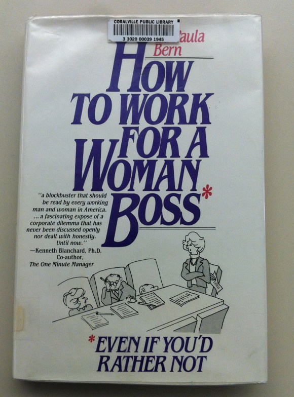 book cover of How to Work for a Woman Boss
