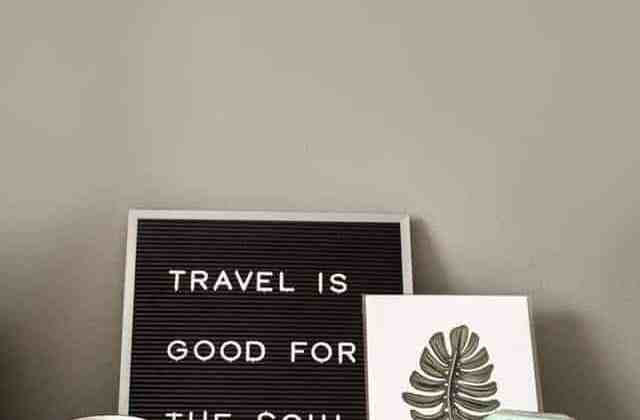 Is travelling really good for the soul?