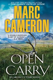 Open Carry Cover art, Marc Cameron, Arliss Cutter