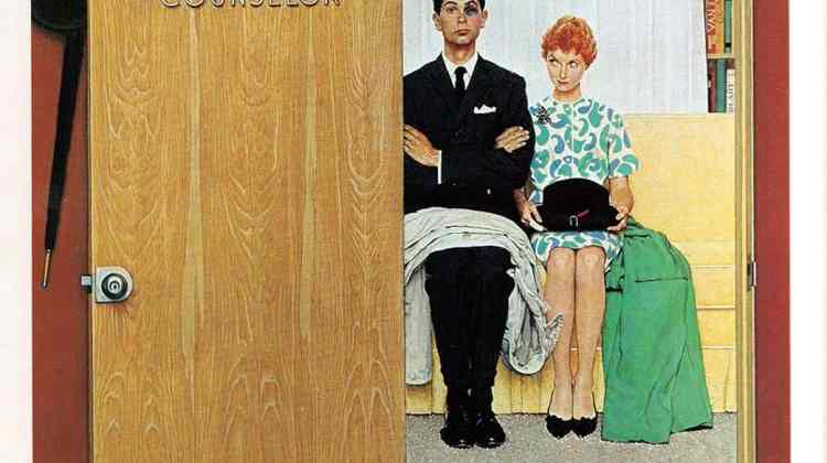 Portrait, Marriage Counselor, Norman Rockwell