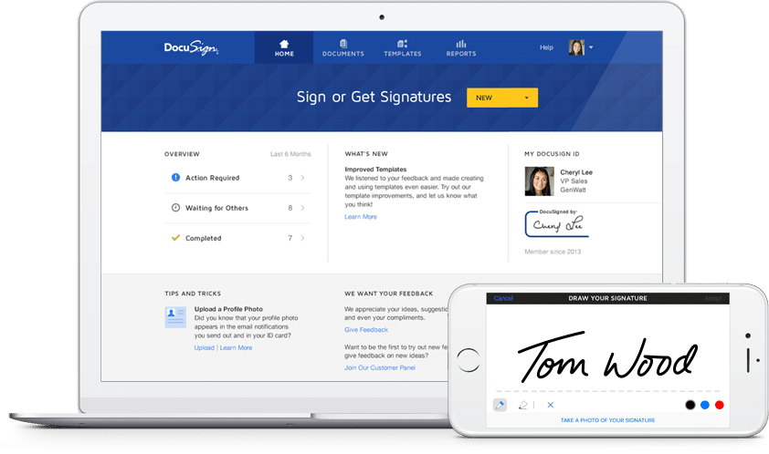 DocuSign secure platform