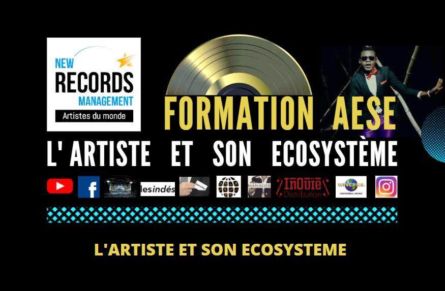 Image représentant la formation AESE créée par New Records management.