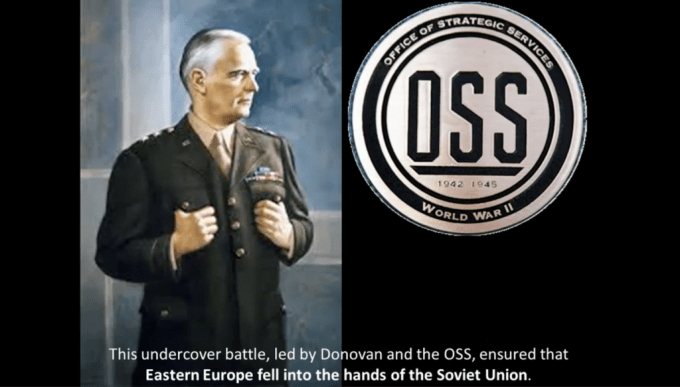 OSS RUN BY AN ANTI-AMERICAN BRITISH DOUBLE AGENT, USED AGAINST AMERICA BECAME THE ANTI-AMERICAN CRIME CABAL THE CIA