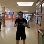 Nick Hamilton makes his decision