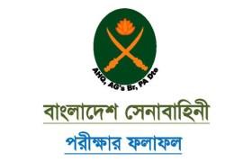 Bangladesh Army Exam Result