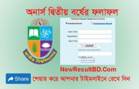 NU Honours Second Year Result 2019, NU Result, National University Exam Result, Honors Result 2019