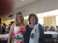 Lynda Stacey and Lizzie