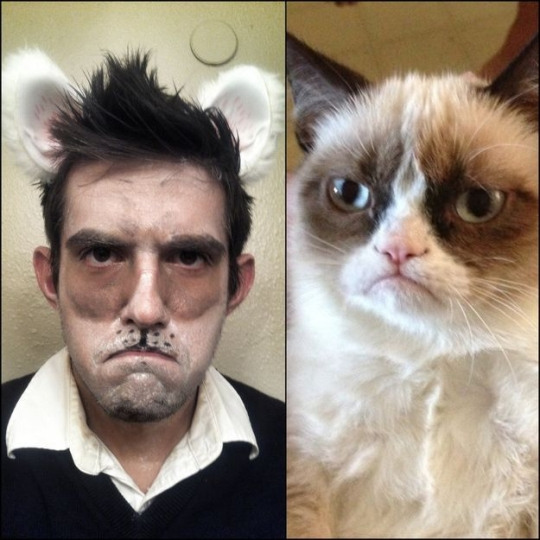 grumpy-make-up-halloween-cat-man-idea-30