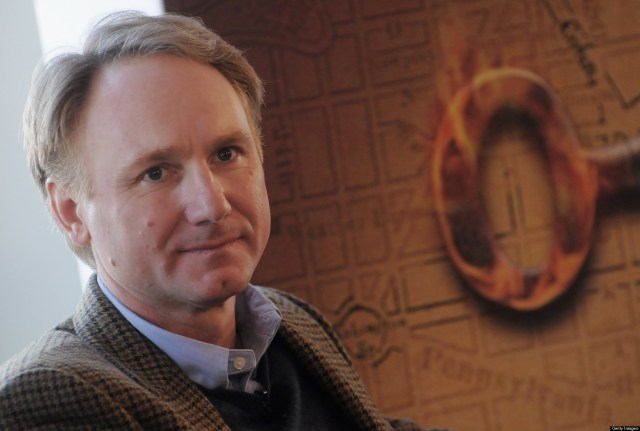 Dan Brown Presents His Book 'The Lost Symbol' In Italy