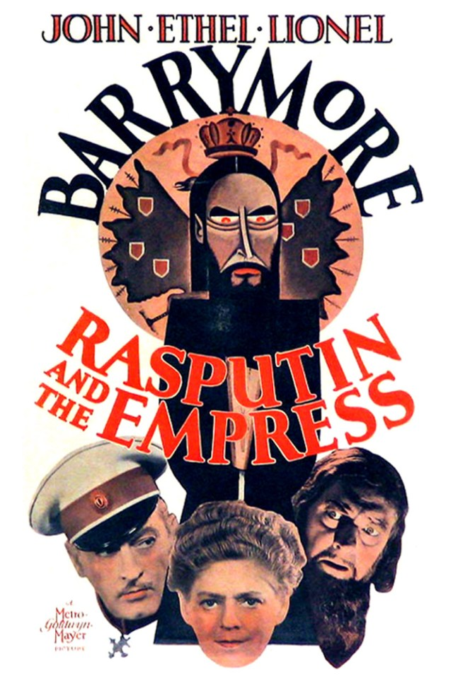 Poster - Rasputin and the Empress_01