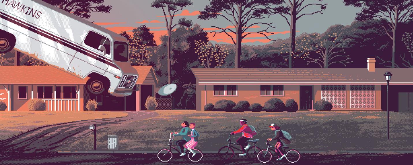 Gustavo Viselner: Pixel Art e cinema unidos
