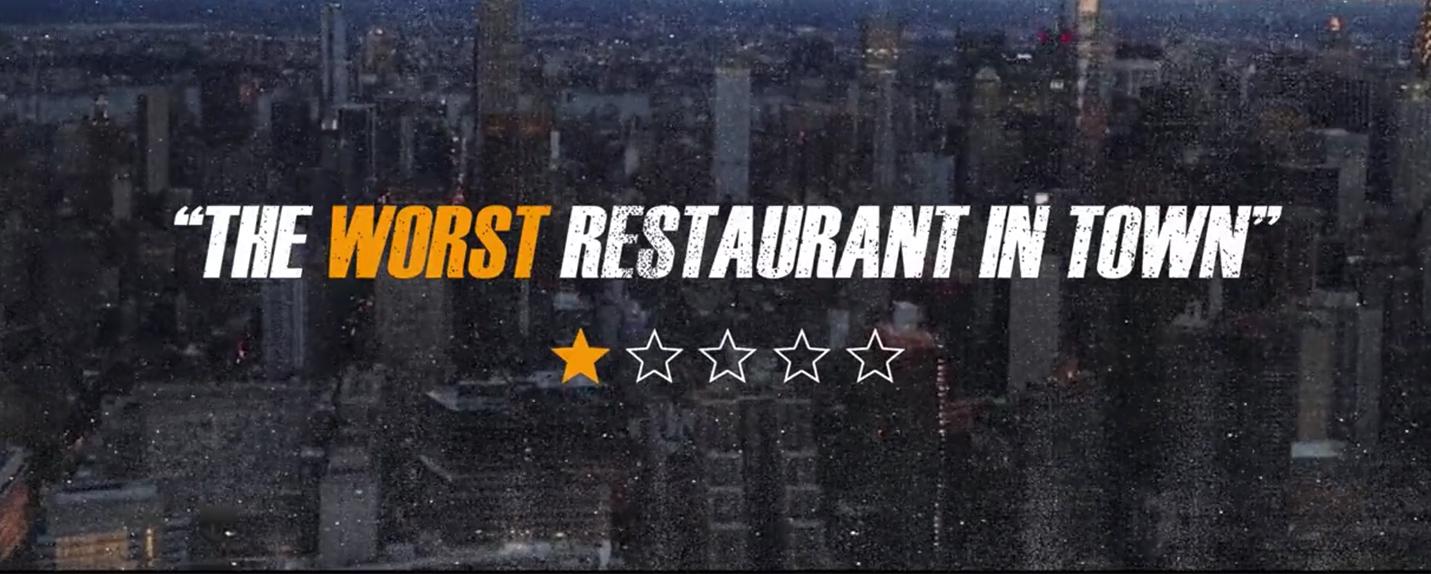 O pior restaurante de Nova York