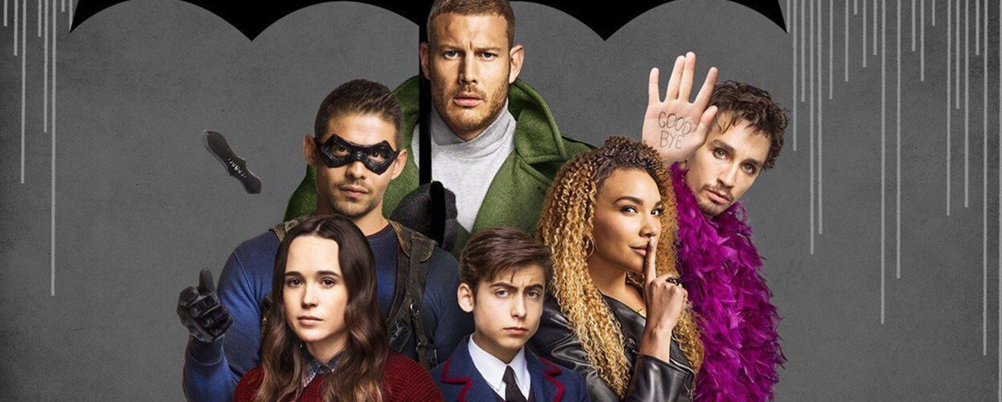 Os novos super-heróis de 'The Umbrella Academy'