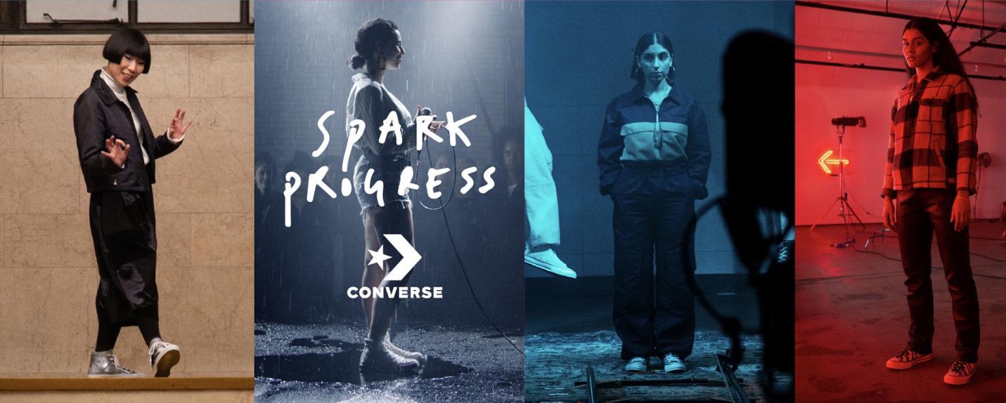 Converse Spark progress e o espaço feminino na contracultura